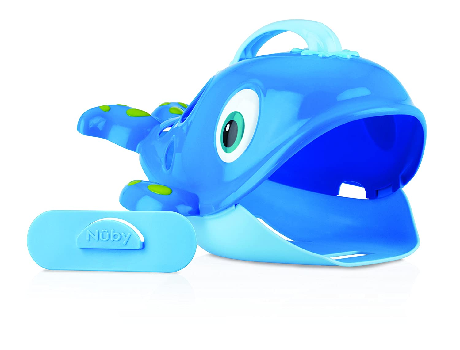 Amazon.com : Nuby Bath Toy Whale Sea Scooper : Bathtub Toy Bags : Baby