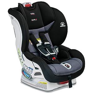 Britax Marathon ClickTight Convertible Car Seat - 1 Layer Impact Protection - Rear & Forward Facing - 5 to 65 pounds, Ashton [Amazon Exclusive]