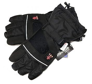 Beste Bestpreis Original Kauf Beheizbare Handschuhe mit 4 Stufen Temperaturregler, wasserabweichend  atmungsaktive mit 3M Thinsulate und TPU Membran, Akkubetrieb