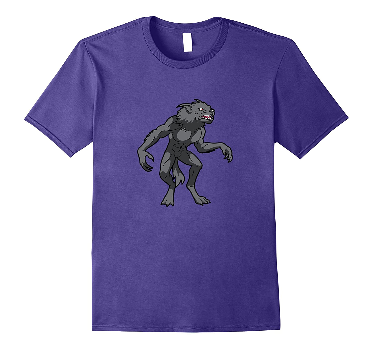 Werewolf Horror Monster Beast T-Shirt-TJ