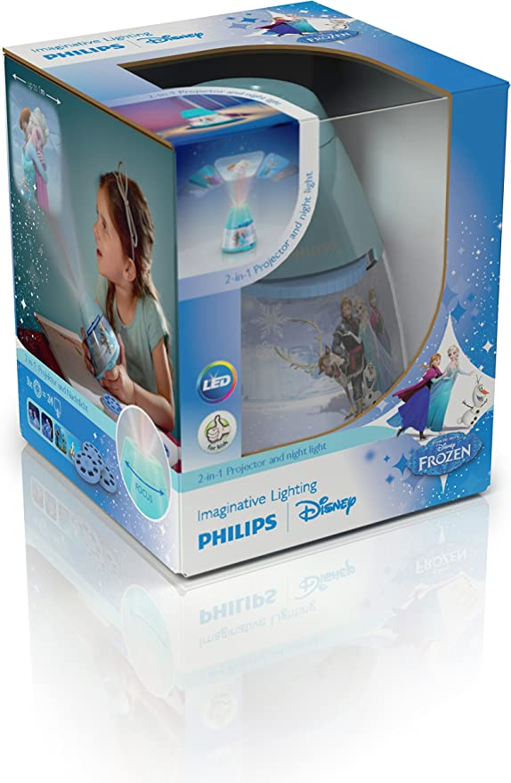 Philips Lighting Frozen, 0.1 W, Azul: Amazon.es: Iluminación
