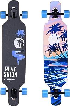 Playshion Drop Through Girl Longboard