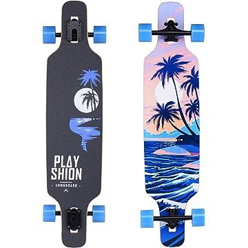 top selling Playshion Freestyle Longboard Skateboard Cruiser