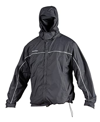 Amazon.com: Rawlings Men's Wpjh Waterproof Jacket with Hood(Grey ...