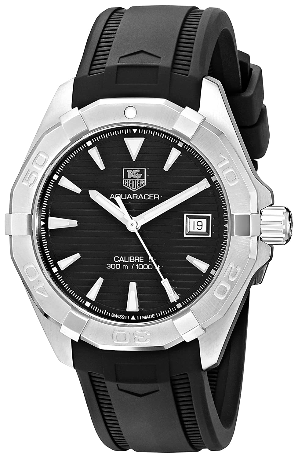 TAG Heuer Men s WAY2110.FT8021 Stainless Steel Automatic Self-Wind Watch