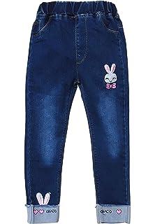 Amazon.com: Pantalones vaqueros coloridos para niños y niñas ...