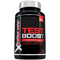 Test Boost for Men - 180 Capsules Testosterone Support Supplement - Ingredients Contribute to Normal Testosterone Levels & Reduction in Fatigue | Zinc Level Booster, Magnesium & Maca Root