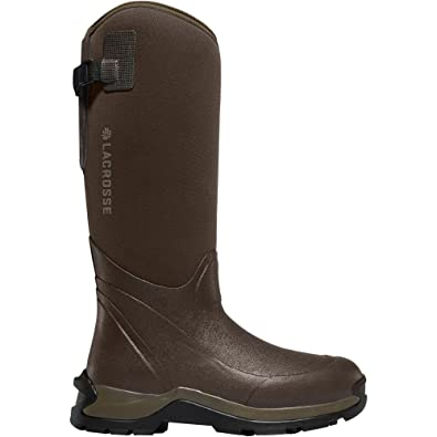 """Alpha Thermal 16"""" Brown 7.0MM (644109)  Waterproof  Insulated Modern Comfortable Hunting Combat Boot Best For Mud Snow"""