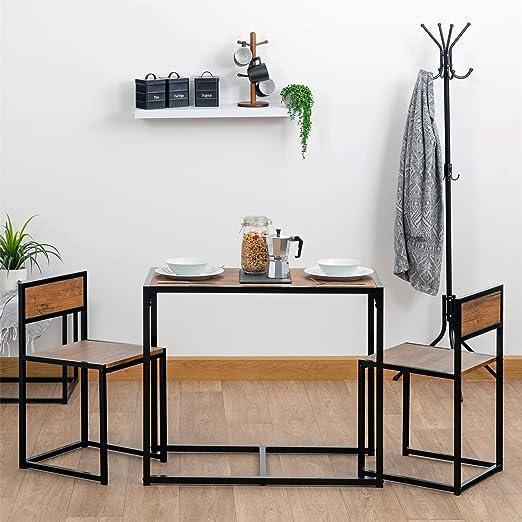 Harbour Housewares Set de Mesa de Comedor/Cocina y 2 sillas ...