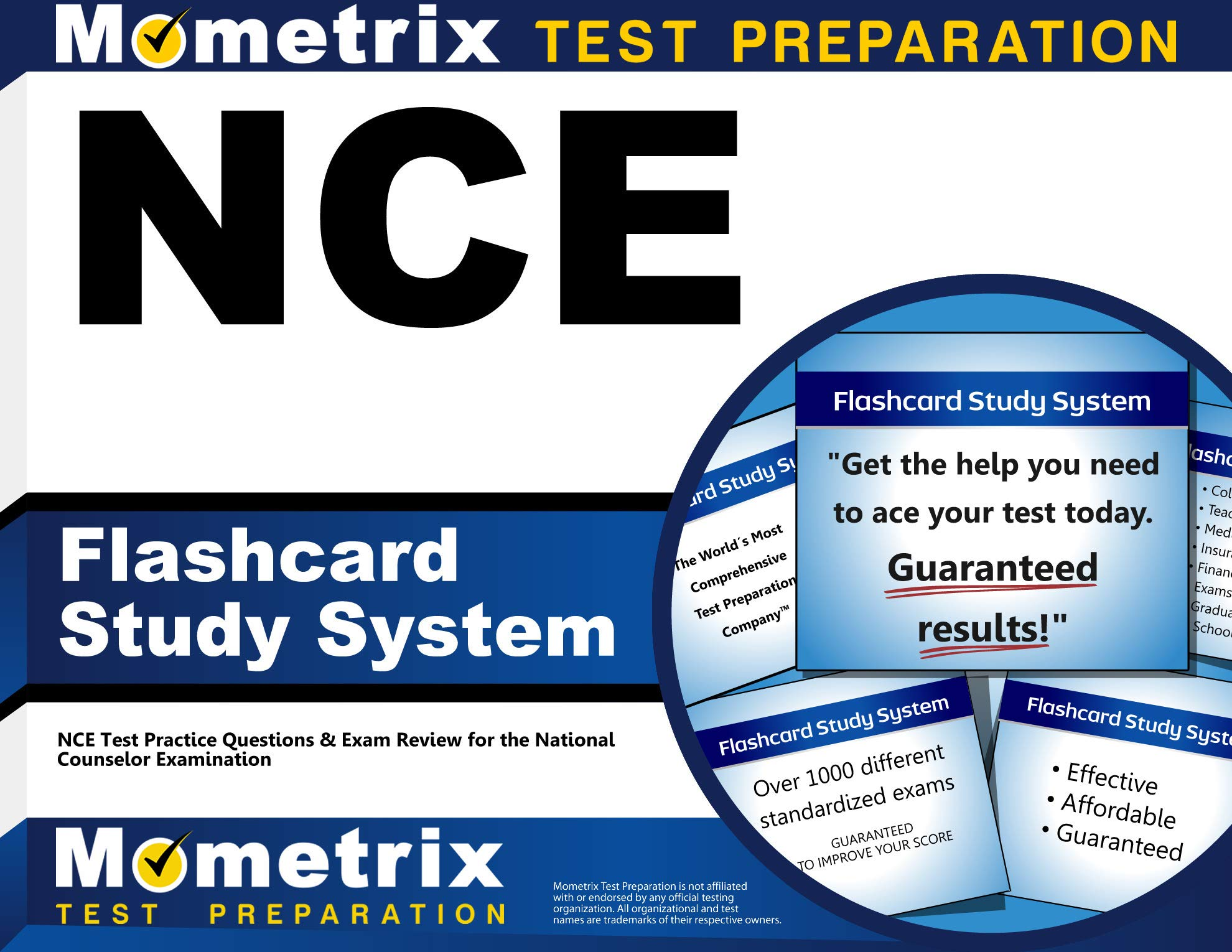 NCE Flashcard Study System: NCE Test Practice Questions & Exam Review for the National Counselor Examination (Cards) by Mometrix Media LLC