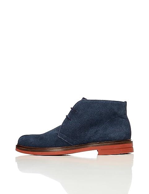 Trouver Des Chaussures En Daim Pour Les Hommes, Bleu (marine), 41 Ue