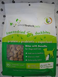 Small Batch Small Bites Freeze Dried Dog Food