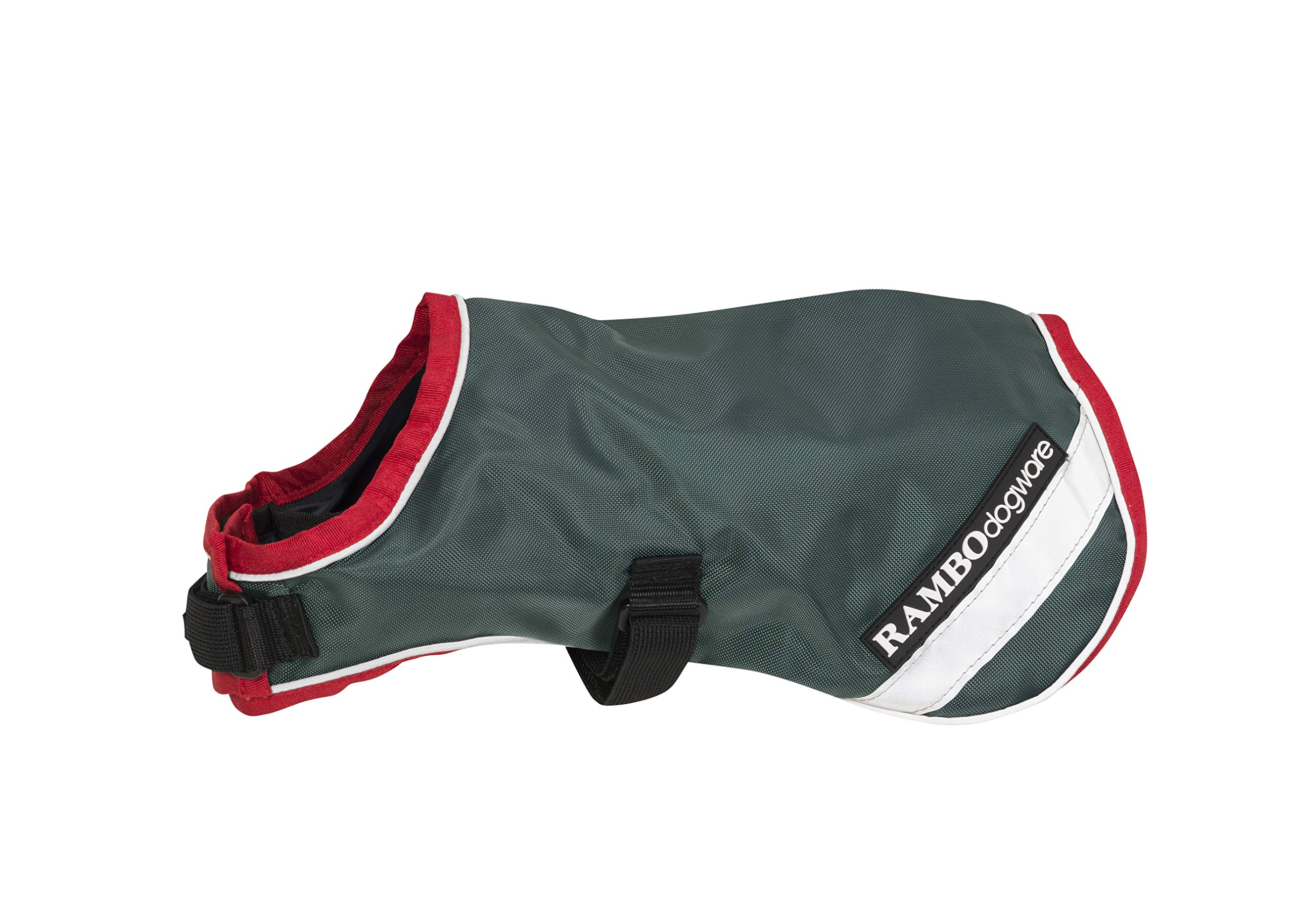 Rambo Waterproof Dog Blanket 100g Large Green/Red