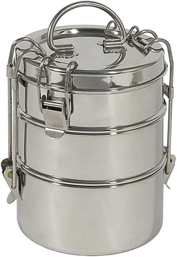 To-Go Ware Three-Tier Stainless Lunchbox