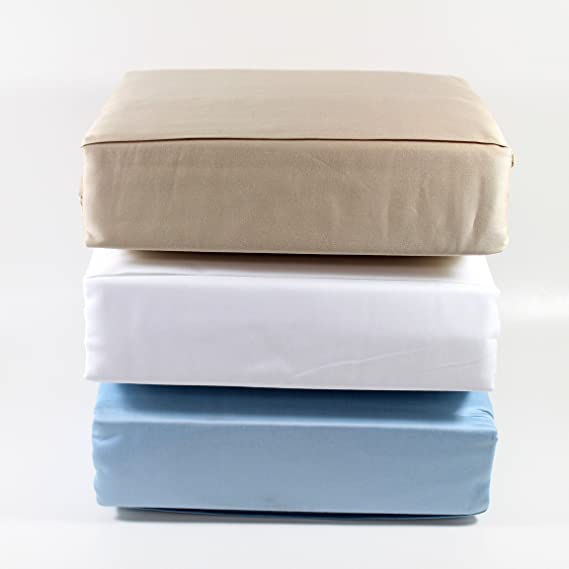 Amazon.com: Premium Tencel Cotton Full Bed Sheet Set 4pc Bedding Set: 1 Fitted Sheet, 1 Flat Sheet, 2 Pillowcases, Queen Size, White Color: Home & Kitchen