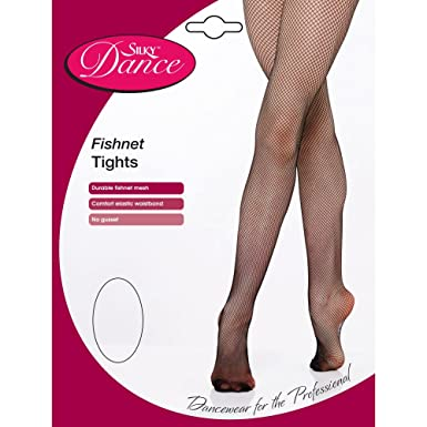 1ef62a49c50bf Silky Womens/Ladies Dance Fishnet Tights (1 Pair) (Small (4ft11 ...
