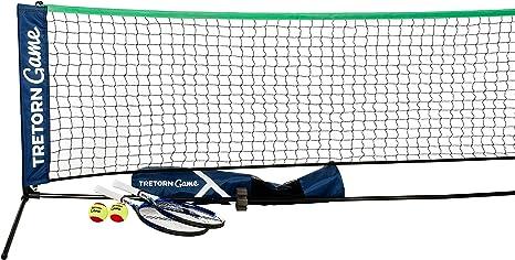 Tretorn Coach Equipment Tennis Tennis Net Blue Amazon Co Uk Sports Outdoors