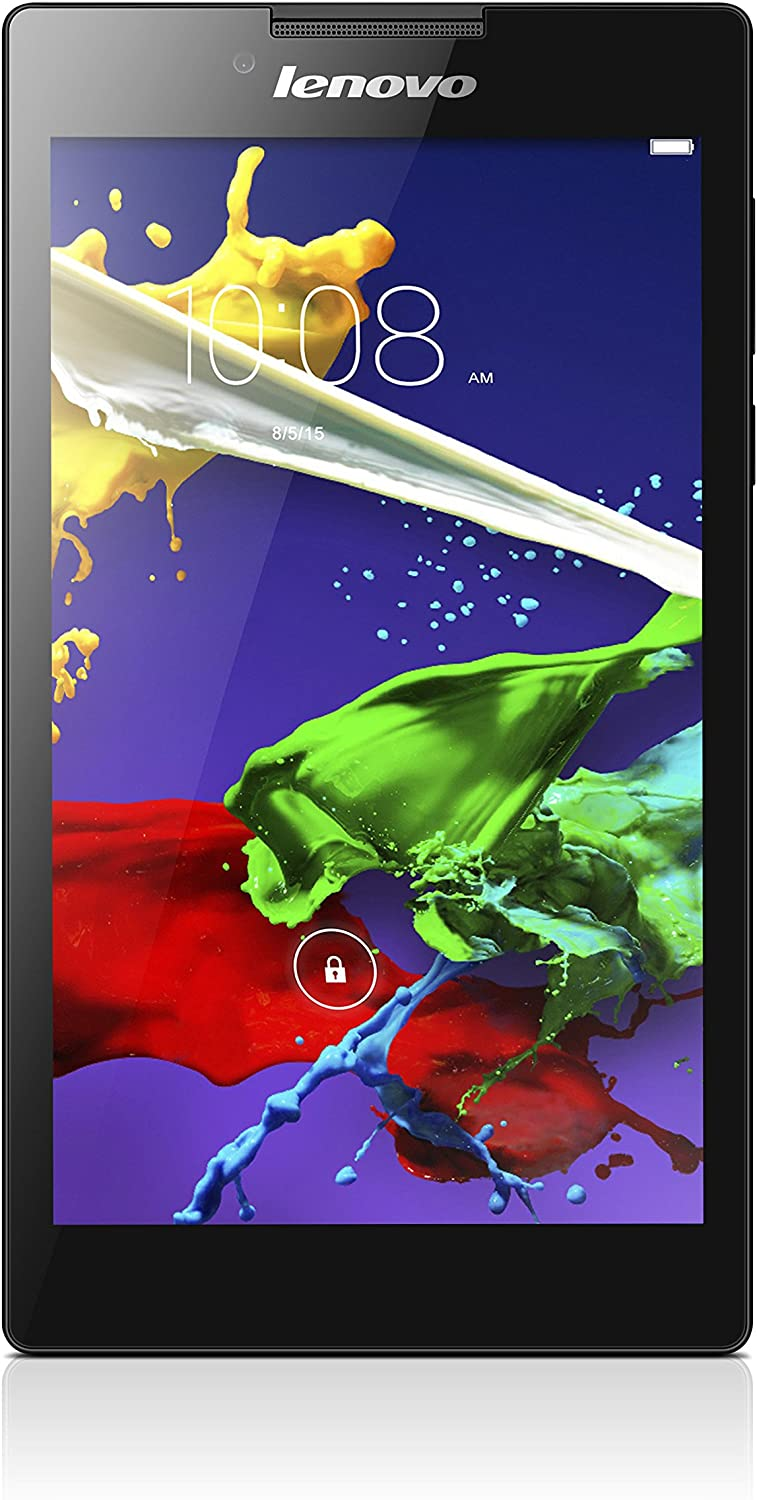 Lenovo Tab 2 A7 59445601 7-Inch 16 GB Tablet (Black)
