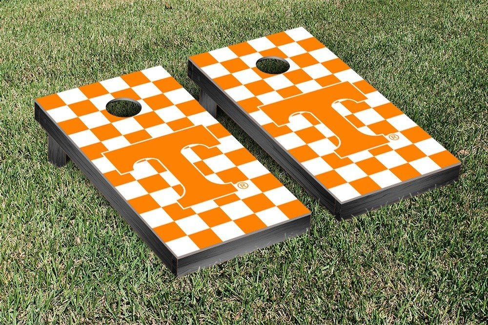 Tennessee Vols Volunteers Regulation Cornhole Game Set Checkerboard Version by Victory Tailgate