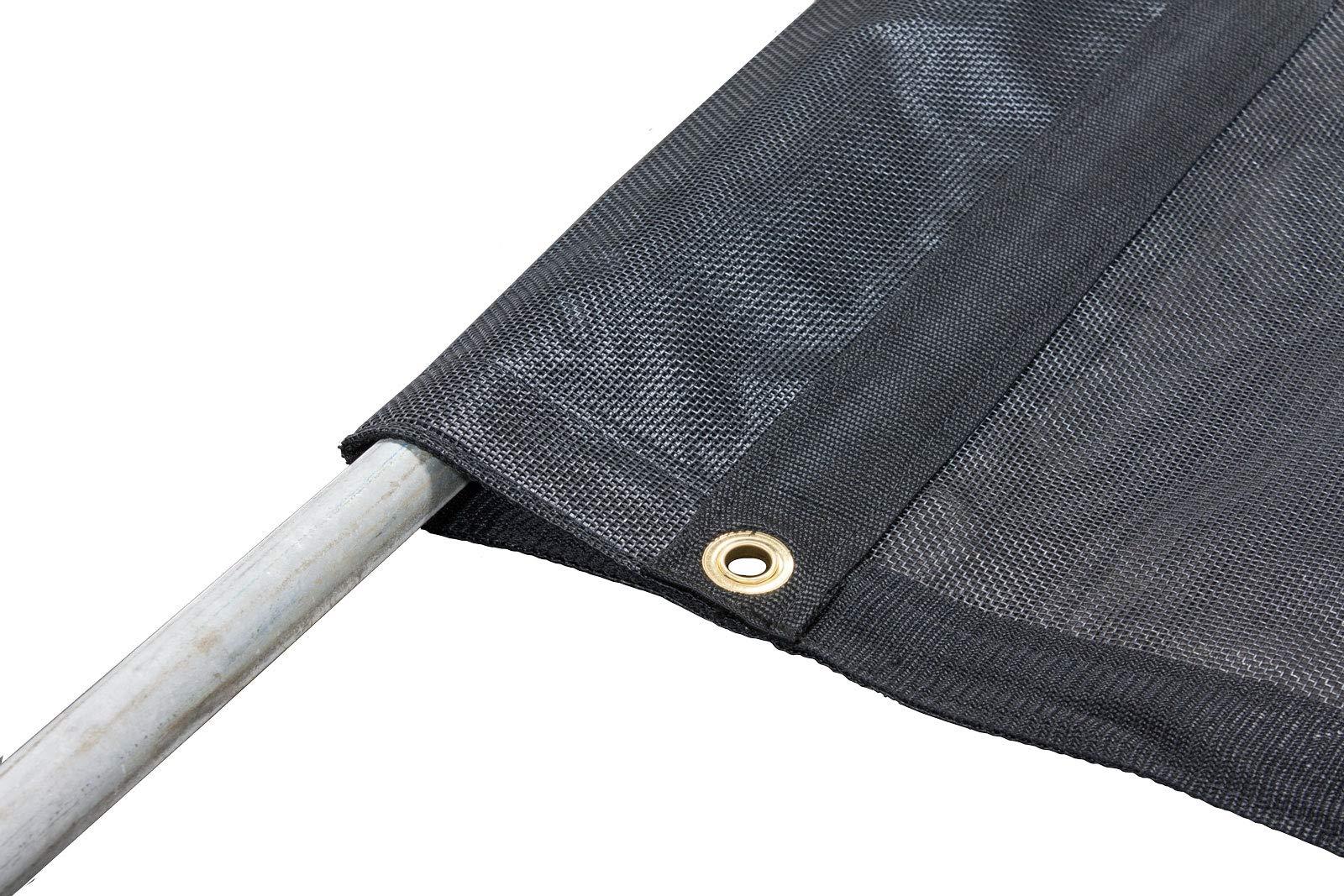 Mytee Products 6'6'' x 15' Dump Truck Vinyl Coated Mesh Tarps Cover with 6 Inch 18oz Pocket
