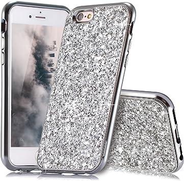 coque iphone 6s silicone paillette