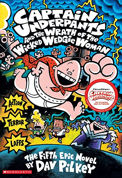 Image result for captain underpants and the wrath of the wicked wedgie woman full color
