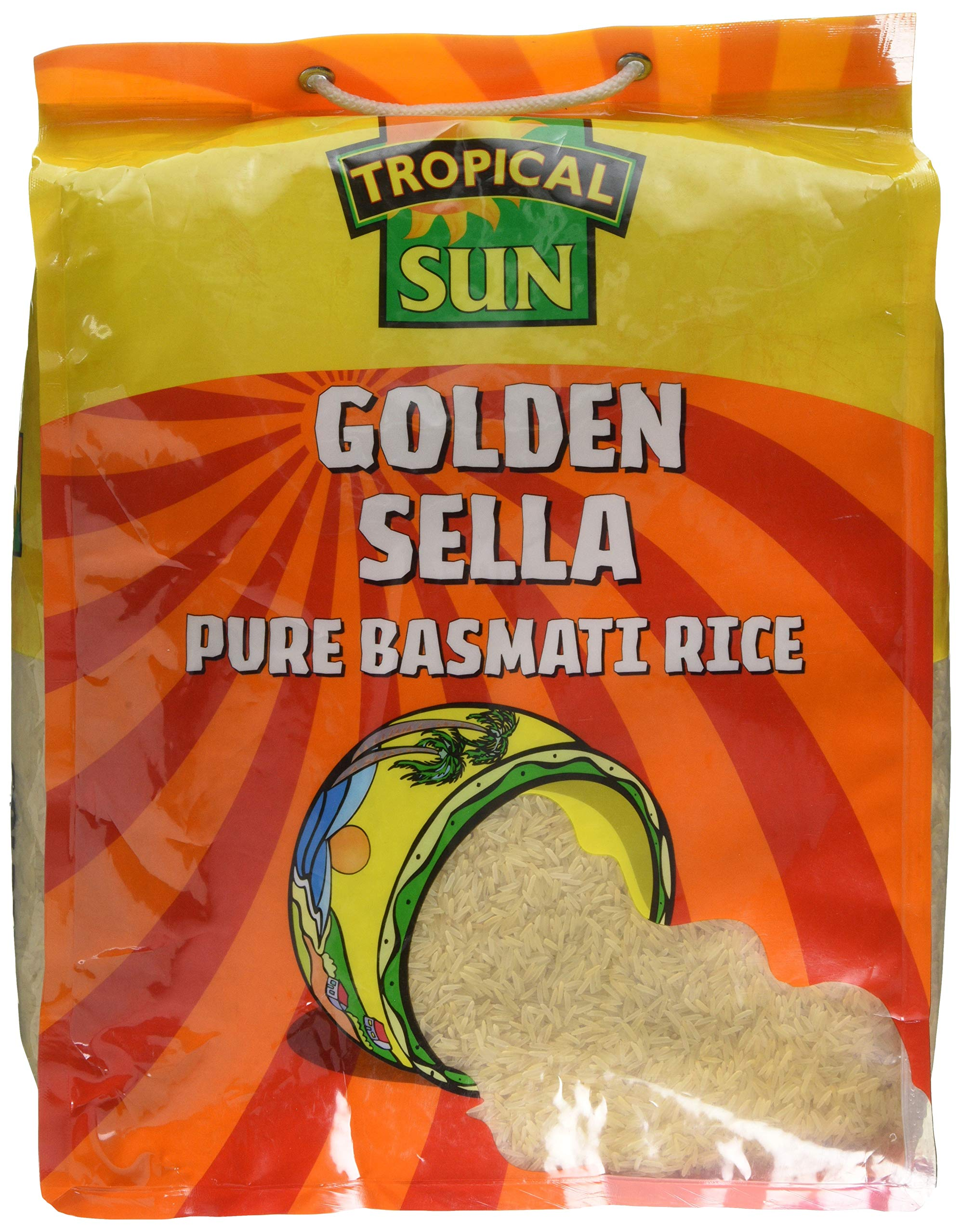 Tropical Sun Golden Sella Rice 10kg(Pack of 1)