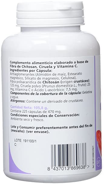 SANON - SANON Chitosán 225 cápsulas de 470 mg: Amazon.es: Salud y cuidado personal