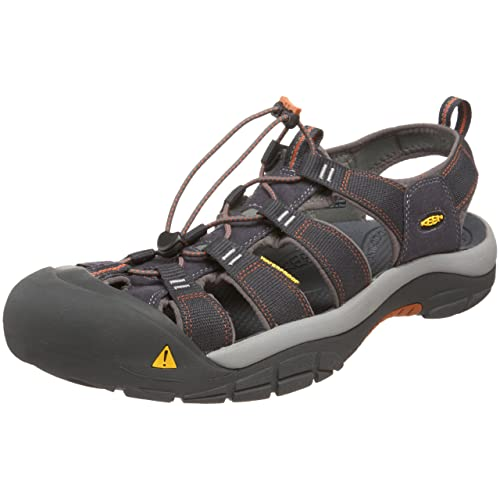 KEEN Men s s Newport H2 Closed Toe Sandals Brown (India Ink Rust 0) 7.5