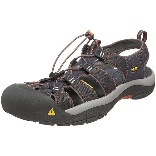 d6275b1aa942 KEEN Men s s Newport H2 Closed Toe Sandals Brown (India Ink Rust 0) 7.5