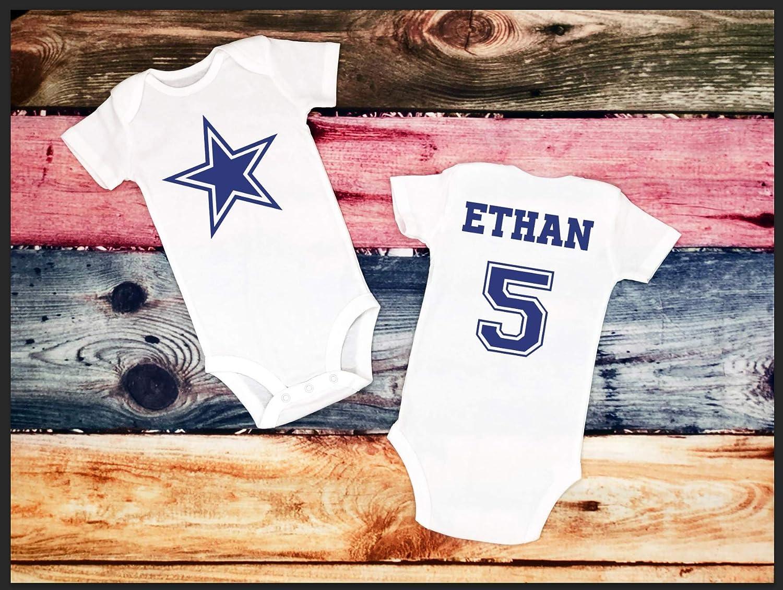 Amazon Dallas Cowboys Baby Shirt Customized Shirt Handmade