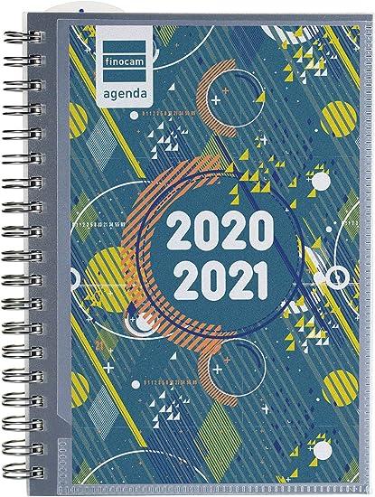 Calendrier 2021 Personnalisable Finocam – Agenda scolaire 2020 2021 Octavo 120x169 semainier