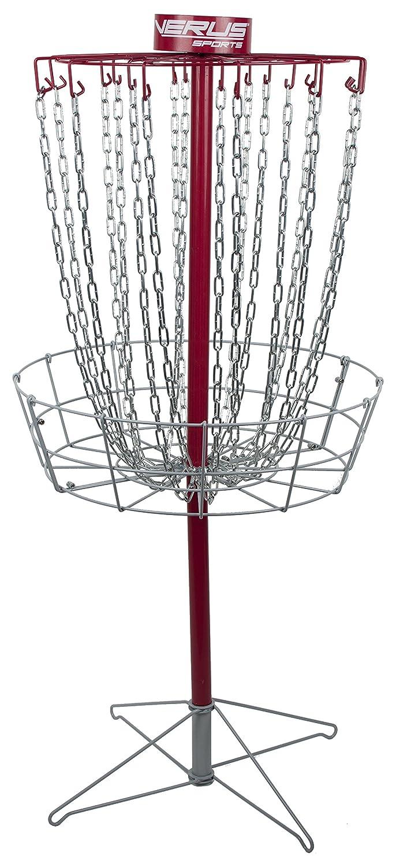 Verus Sports Regulationディスクゴルフバスケット B077D3G333 レッド