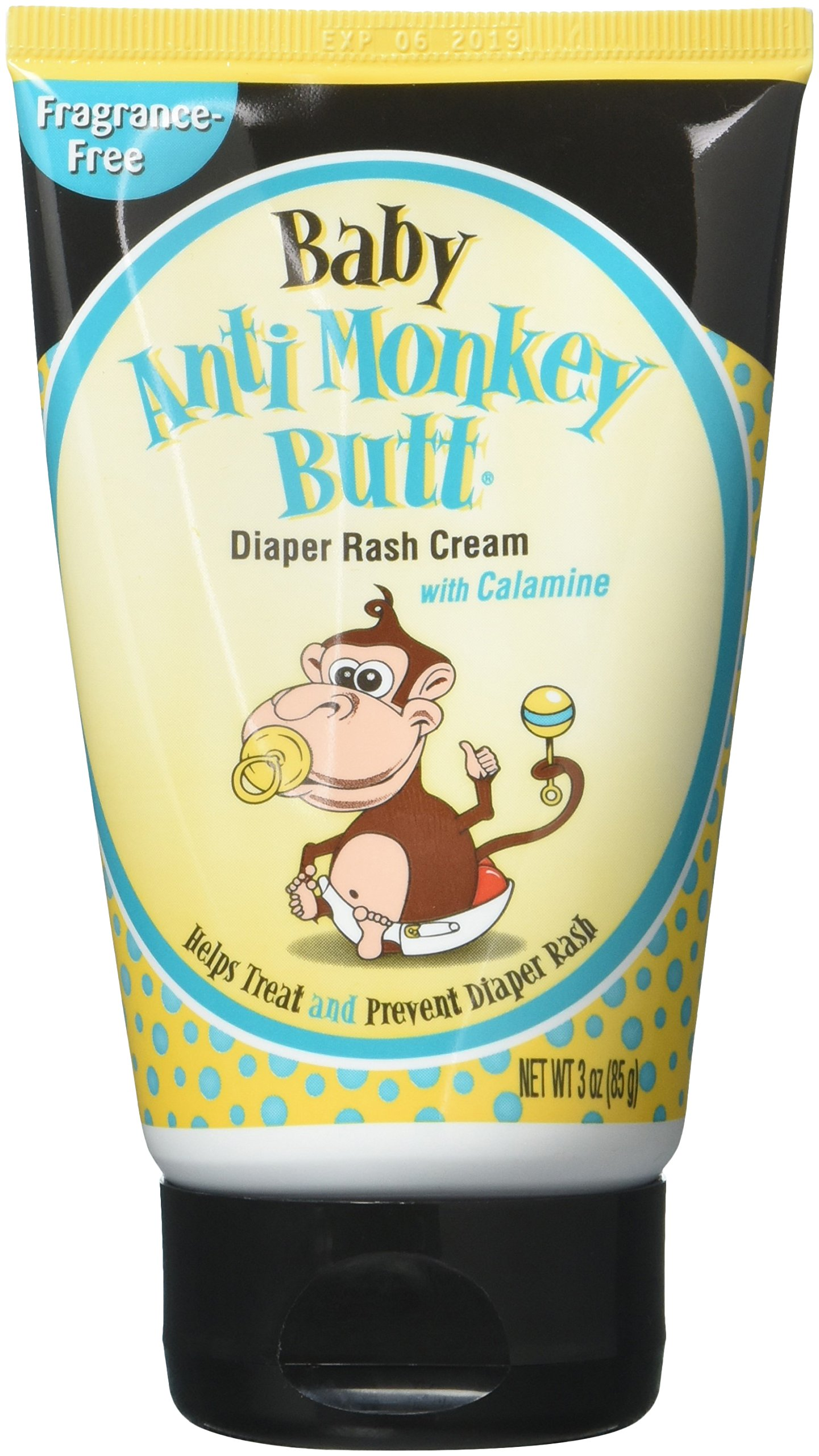 DSE Healthcare Solutions Anti-Monkey Diaper Rash Cream, 3 Ounce, Pack of 2