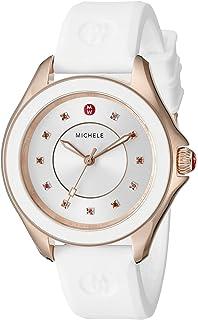 43eae5a20 Amazon.com: MICHELE Women's Cape Stainless Steel Swiss-Quartz Watch ...