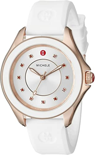 Amazon.com: Michele mww27 a000004 Cape reloj de acero ...