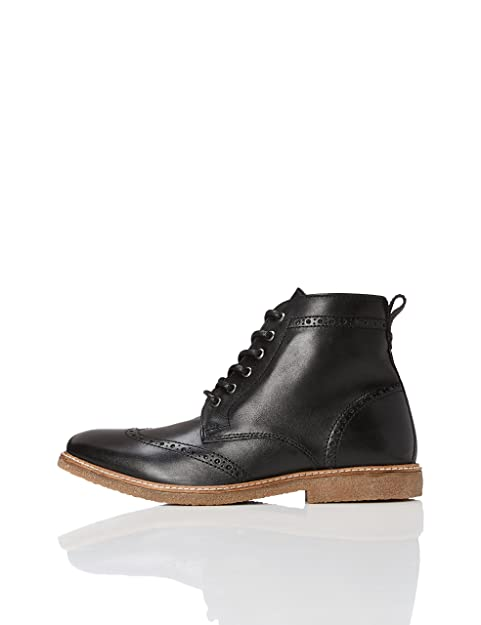 FIND Botines con Suela de Crepe para Hombre: Amazon.es: Zapatos y complementos