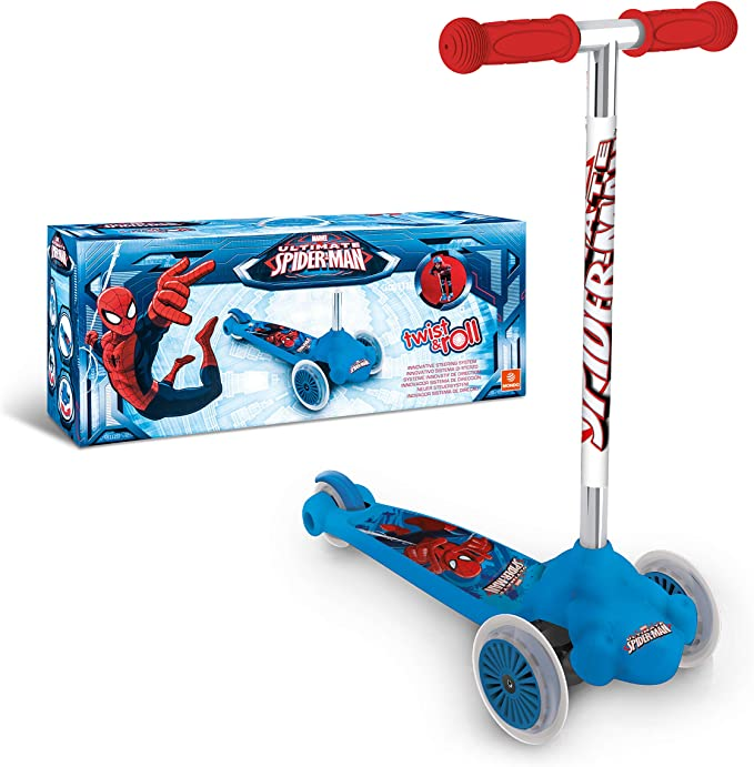 Twist /& Roll Smurf Scooter