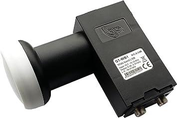 Wideband Unicable LNB LNC GT-WB1 0,1dB 10.41 GHz Verteiler Breitband LNB 4K,3D
