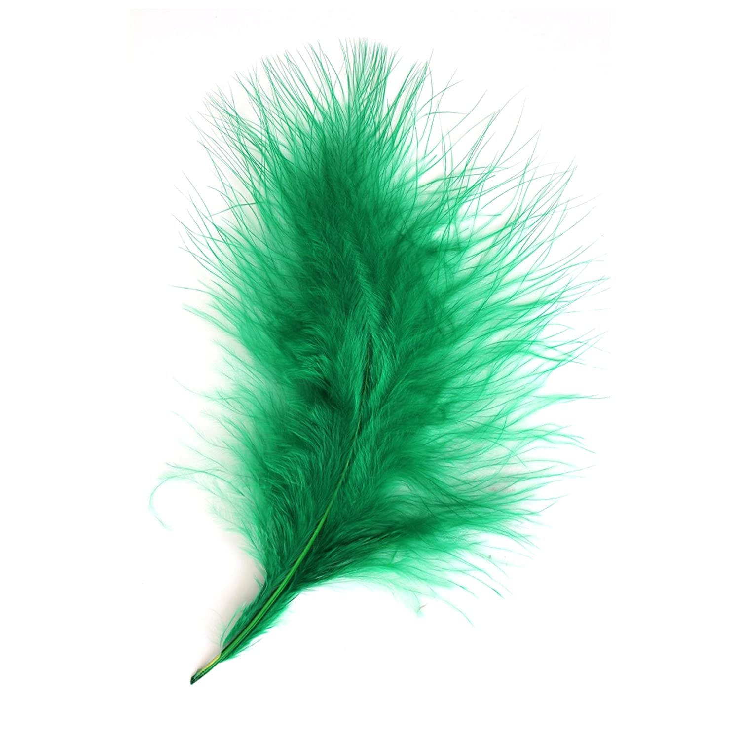 20 x large marabou feather 10-15cm  PINK for fly tying,crafts,cards etc.