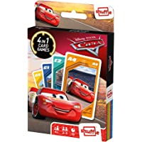 Shuffle Card Game Fun 4 in 1 Cars