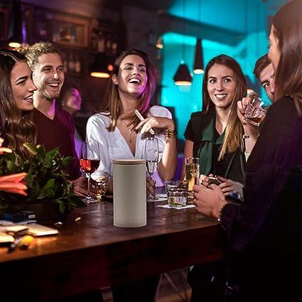 ITOMTE Kings Cup – Juego de beber impermeable – Divertido juego de beber para adultos para uniones universitarias/fiesta/bar, 52 palos de juego + 8 palos en blanco con instrucciones (idioma español no