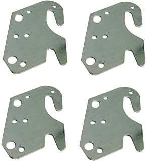 Amazon Com Claw It On 10 Bed Rail Hooks Plate Adapter Kit For