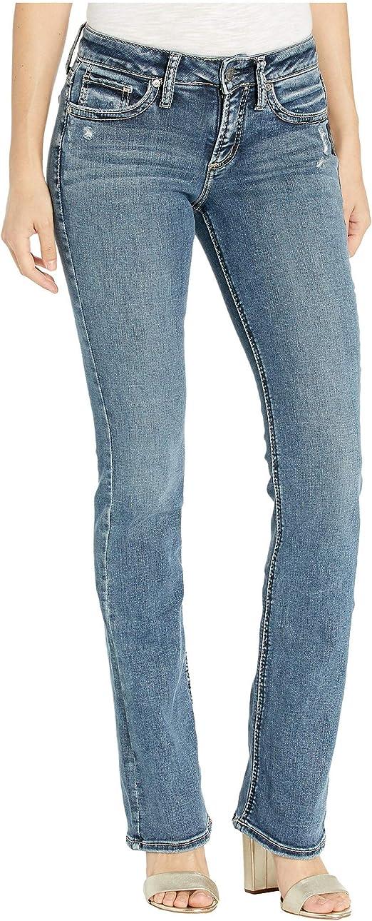 Silver Jeans Co Womens Suki Slim Boot