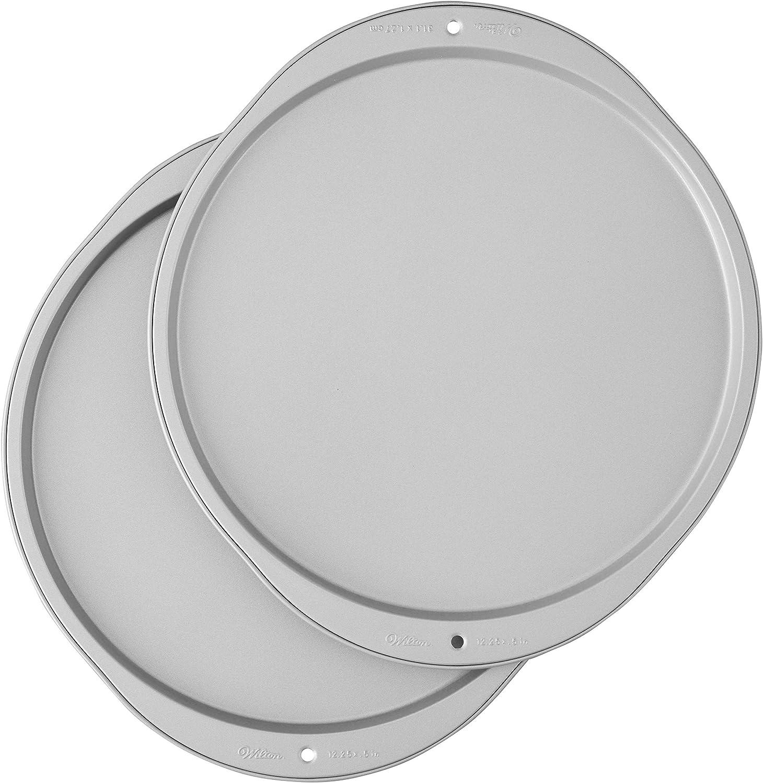 Wilton Recipe Right Pizza Pans, 2-Piece Set: Kitchen & Dining