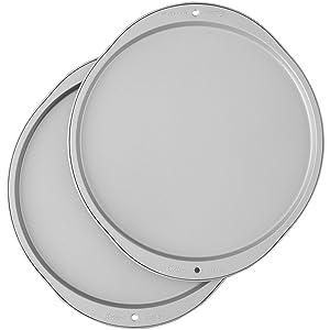 Wilton Recipe Right Pizza Pans,2-Piece Set