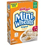 Frosted Mini-Wheats Kellogg's Breakfast Cereal, Original, Low Fat, Excellent Source of Fiber, Family Size, 24 oz Box