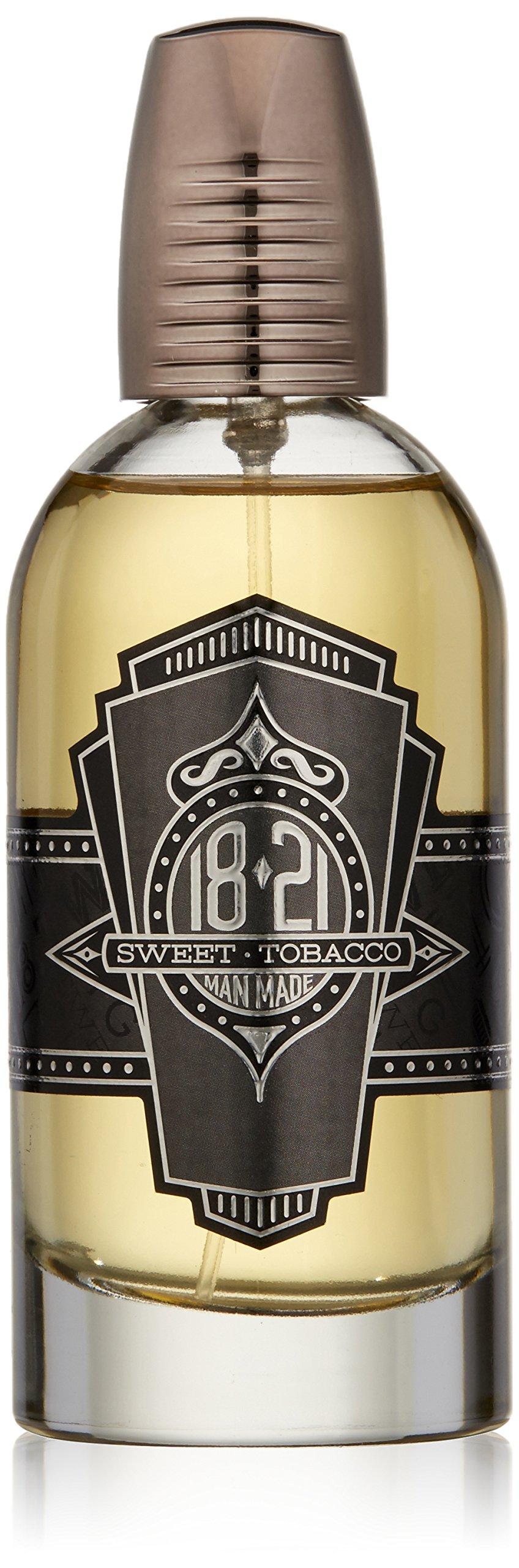 18.21 Man Made Men's Cologne, Tobacco Vanilla Fragrance, 3.4 fl. oz - Long-Lasting Eau de Parfum for Men, Sweet Scent with Woodsy Undertones - Eau de Toilette with Masculine Aromatics by 18.21 Man Made