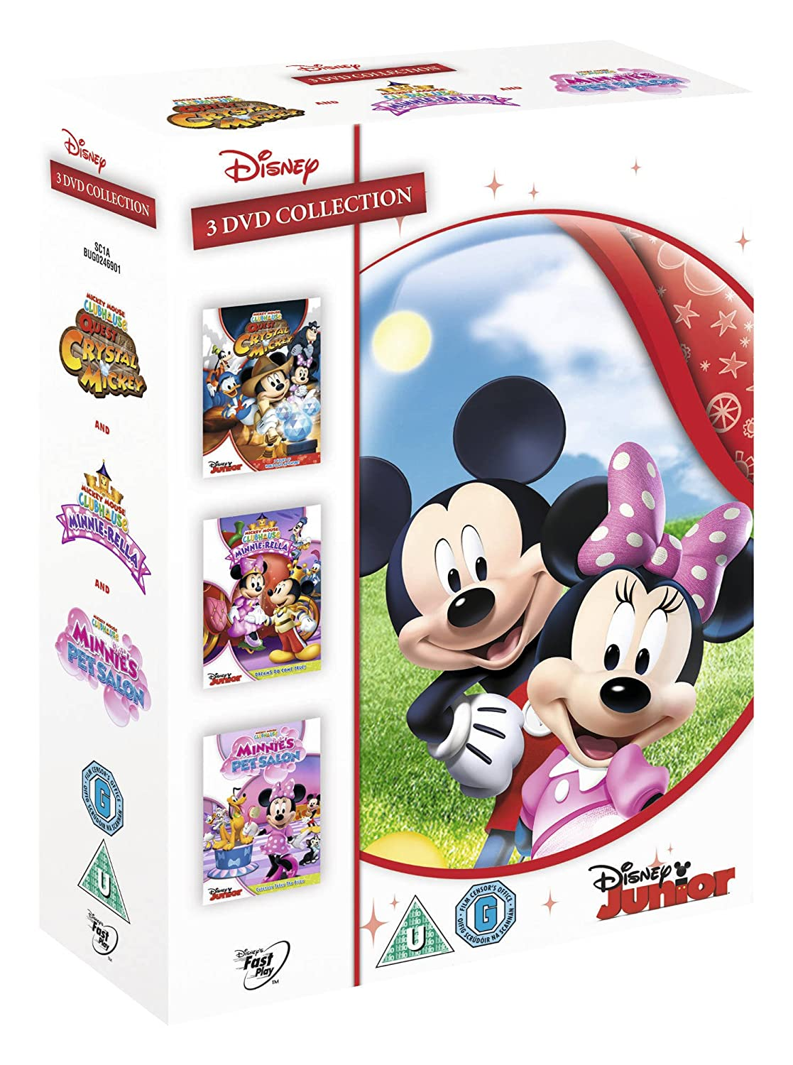 Mickey Mouse Clubhouse Triple Pack [DVD]: Amazon.es: Cine y Series TV