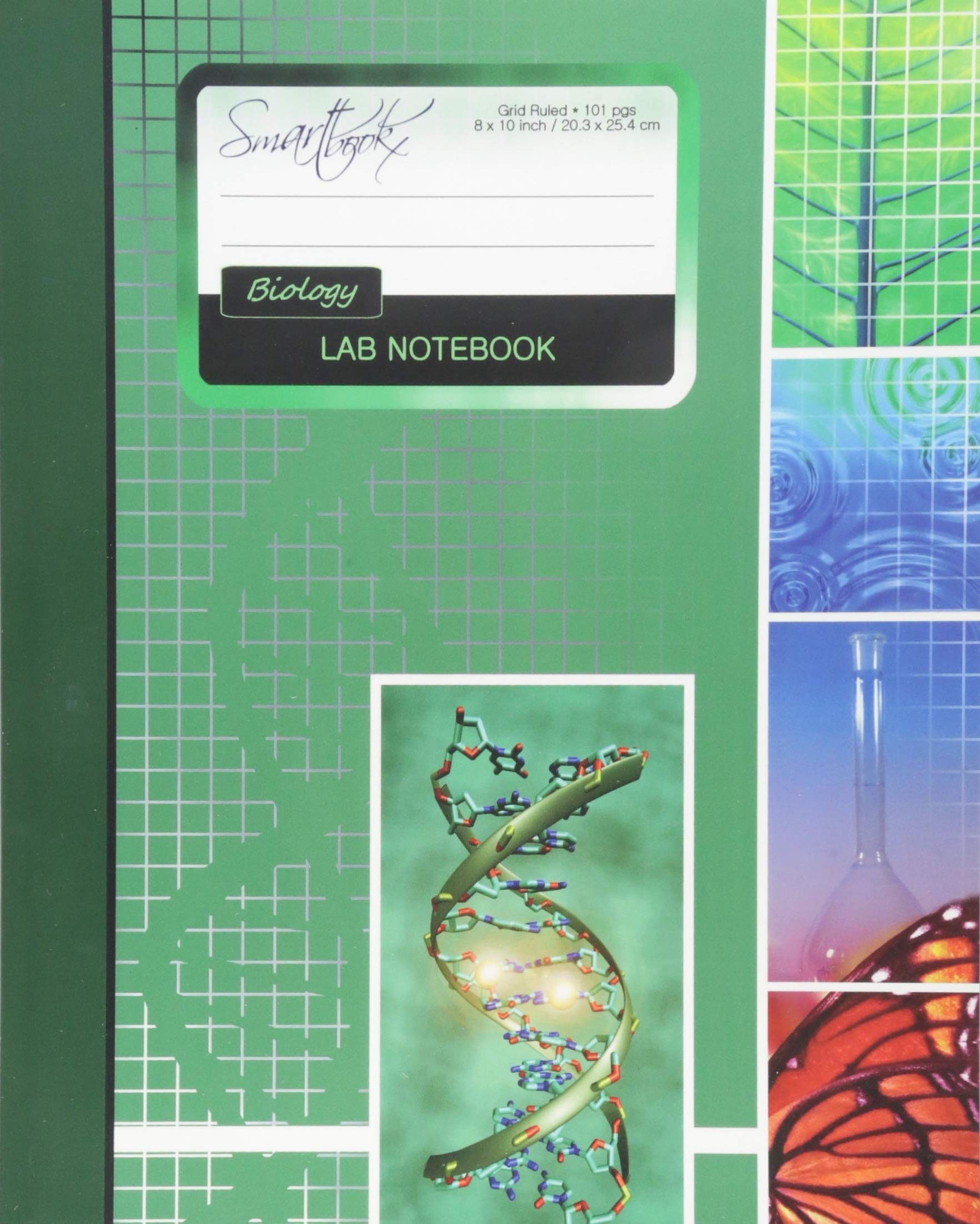 Lab Notebook Biology Laboratory Notebook For Science Student Research College 101 Pages Perfect Bound 8 X 10 Inch Composition Books Specialist Scientific Smart Bookx 9781517787066 Amazon Com Books